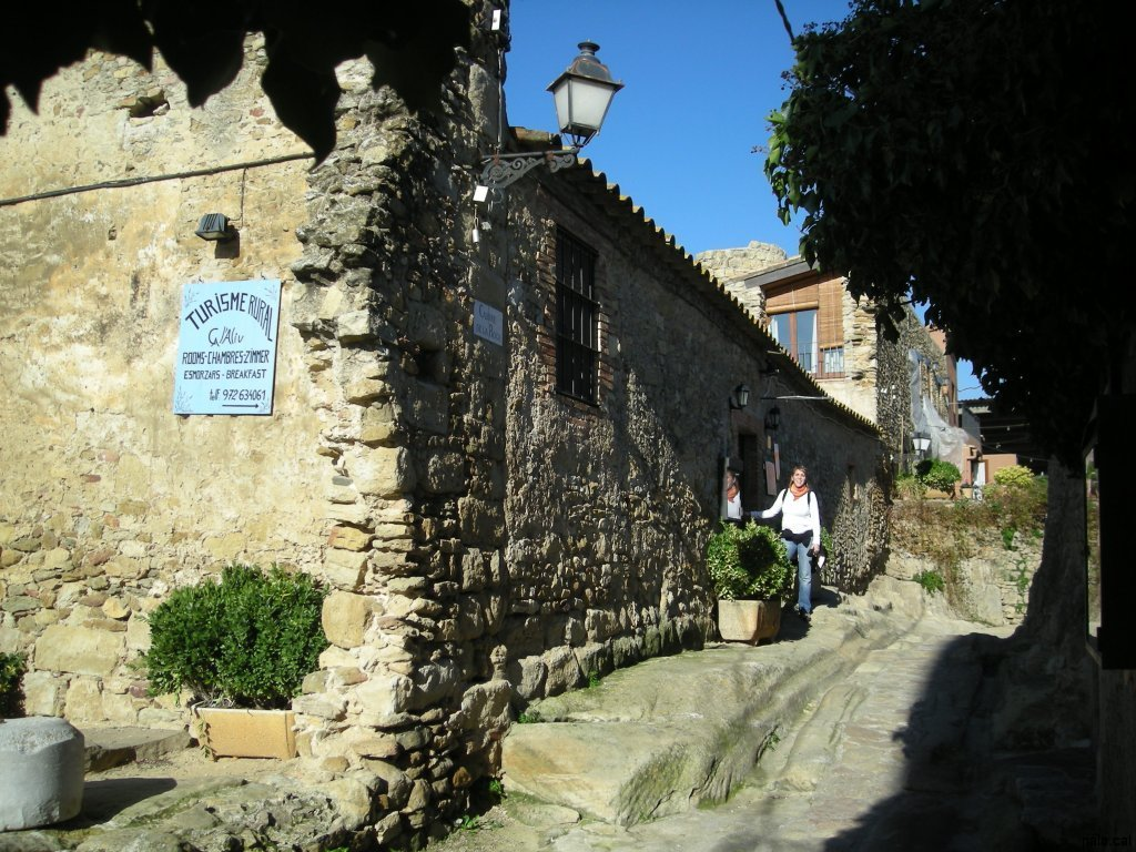 Casa rural de Peratallada on vam dormir