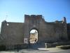 Una entrada de la muralla de Peratallada