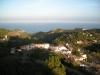 Vista des del castell de Begur