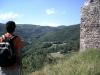 Gaudint del paisatge des del Castell de Beget