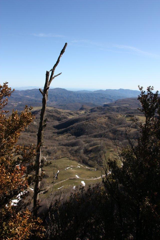 Panoràmica desde dalt de Cabrera