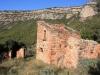 Detall de les ruïnes de Can Coll