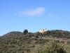 Vista del castell del Clascar