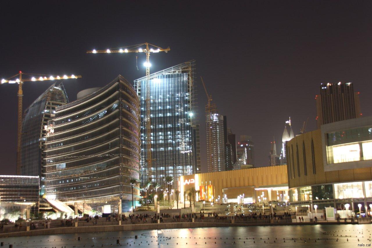 Dubai de nit