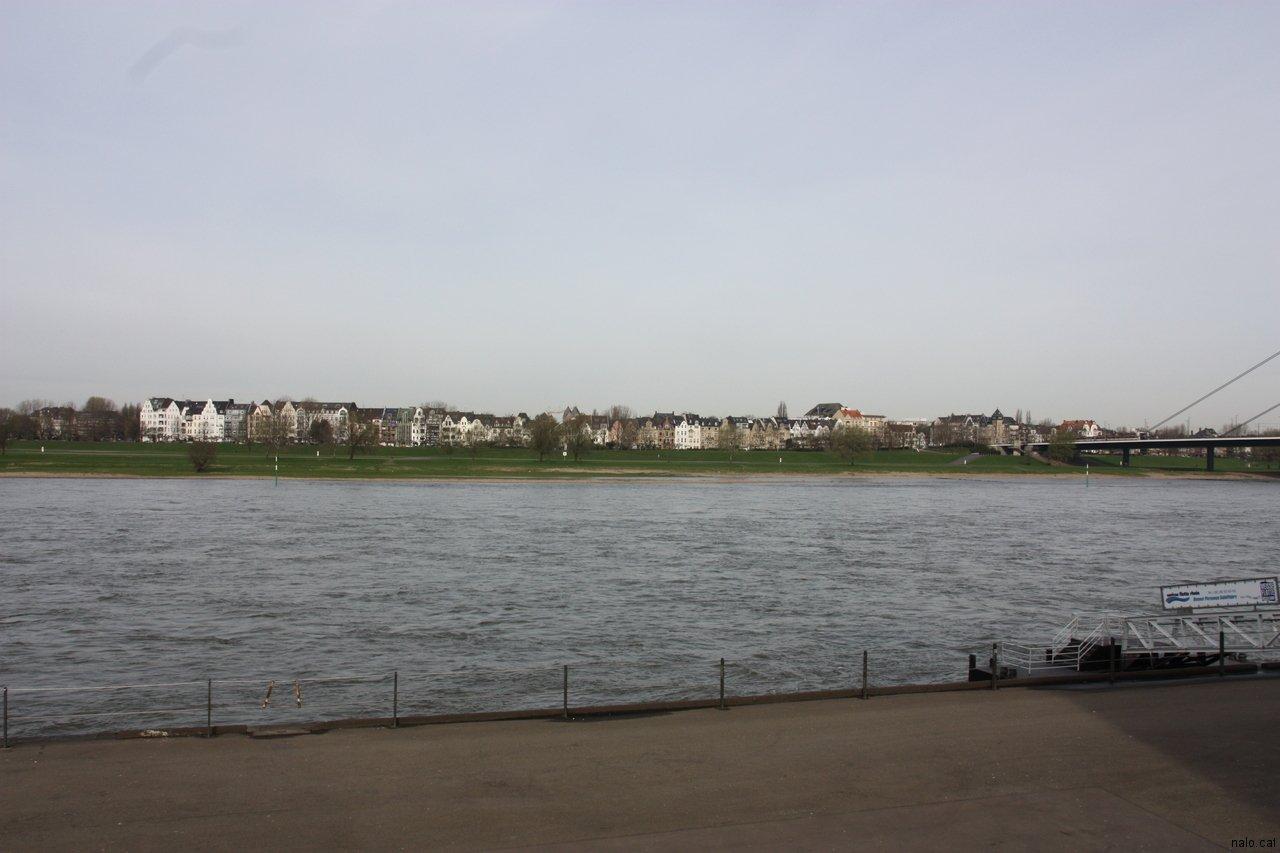 Vista del riu Rhin