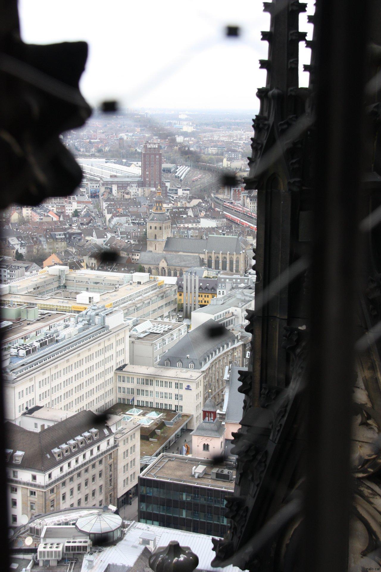 Des de dalt la catedral de Colonia
