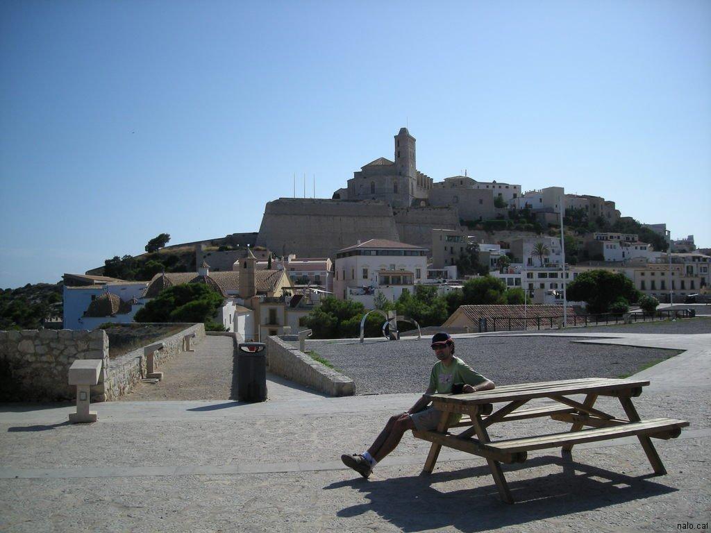 Vista de dalt vila