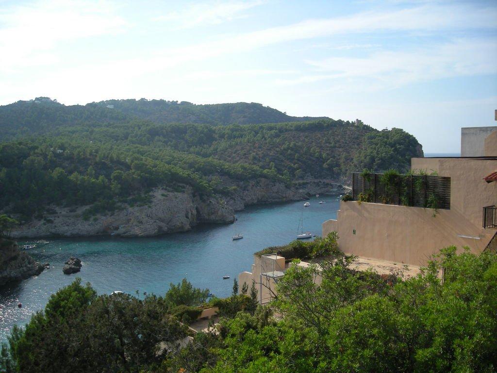 Vista de la platja de Sant Miquel