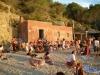 La platja de Benirràs cap al tard