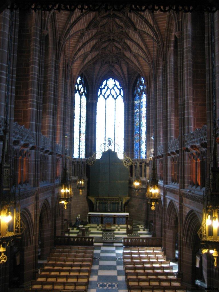 Interior catedral Liverpool