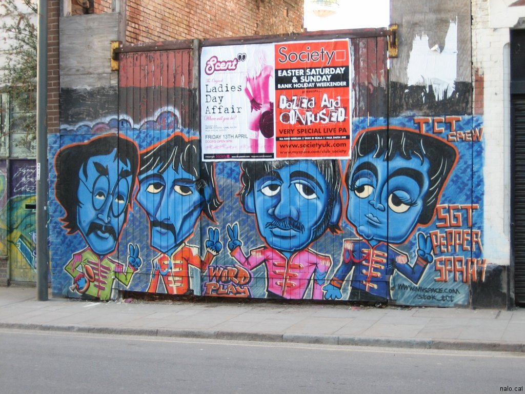 Graffiti dels Beatles