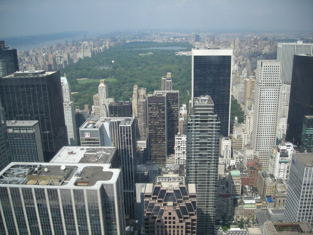 Des del top of the rock