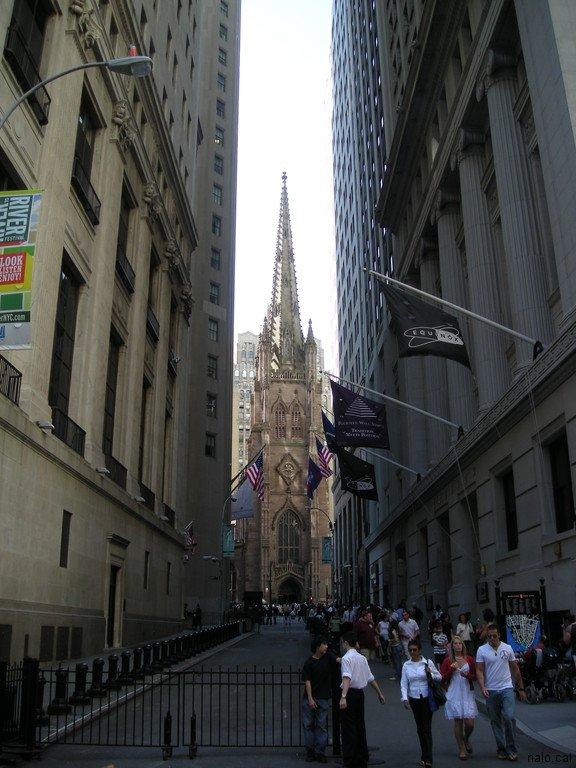 St Patrick des del Wallstreet