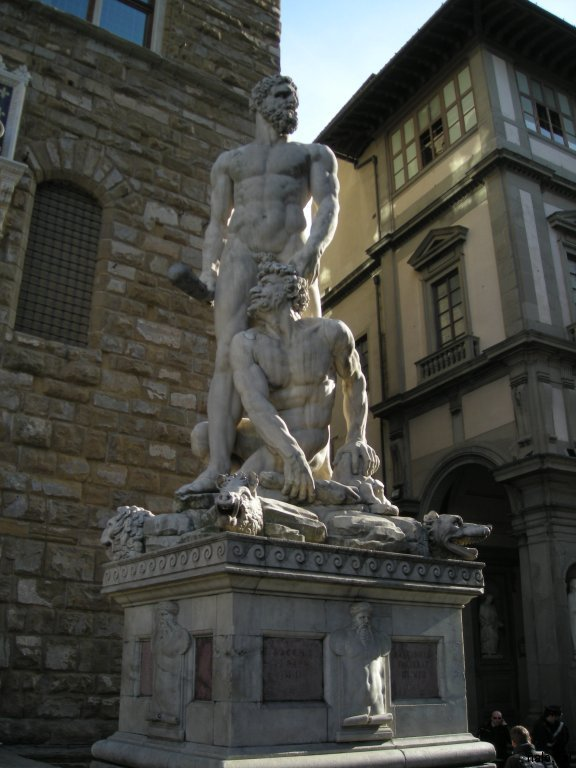Estatues for del Palazzo Vecchio